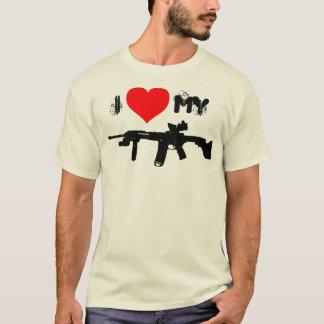 T-shirt J'aime mon AR-15