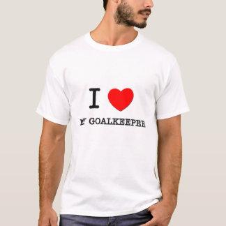 T-shirt J'aime mon gardien de but