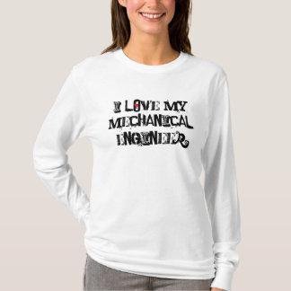 T-shirt J'aime mon ingénieur mécanicien