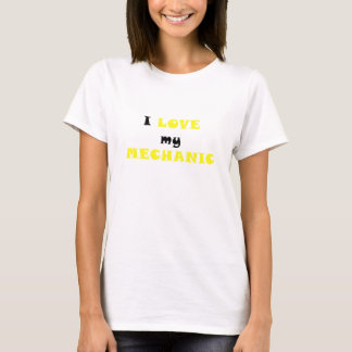 T-shirt J'aime mon mécanicien
