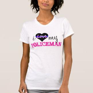 T-shirt J'aime mon POLICIER
