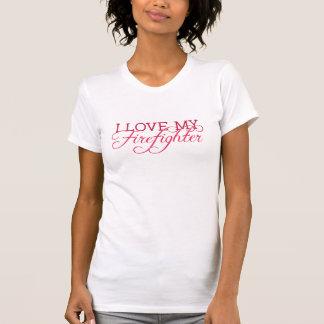 T-shirt J'aime mon SAPEUR-POMPIER