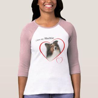 T-shirt J'aime mon Sheltie #2