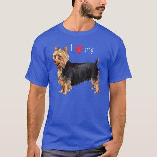 T-shirt J'aime mon Terrier australien