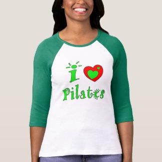 T-shirt J'aime Pilates - dessus de Pilates de la