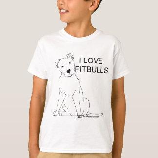T-shirt J'aime Pitbulls
