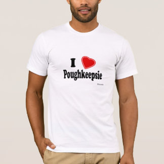 T-shirt J'aime Poughkeepsie