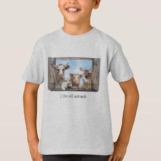 T-shirt J'aime tous les animaux