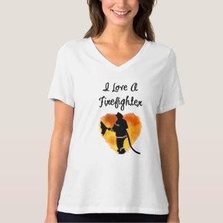 T-shirt J'aime un sapeur-pompier
