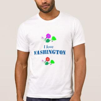 T-shirt J'aime WASHINGTON D C Amérique Etats-Unis