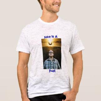 T-shirt Jake, Jake est A, poète