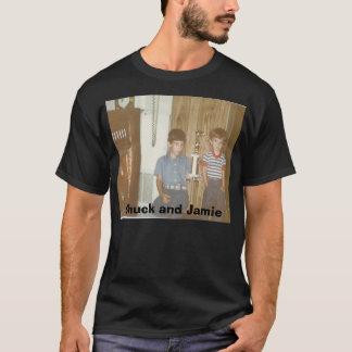 T-shirt jamie 004, mandrin et Jamie