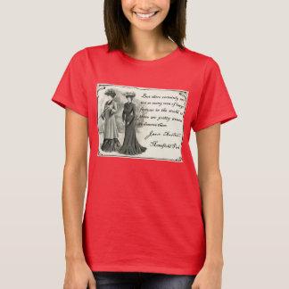 T-shirt Jane Austen : Jolie pièce en t de femmes