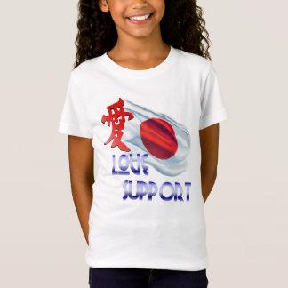 T-Shirt Japan_Love et chemises de soutien