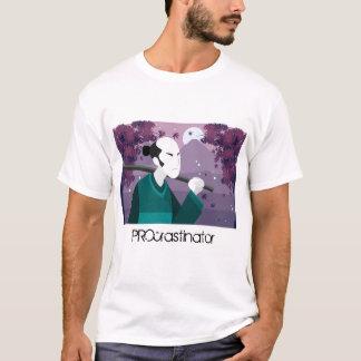 T-shirt japonais de PROcrastinator d'homme