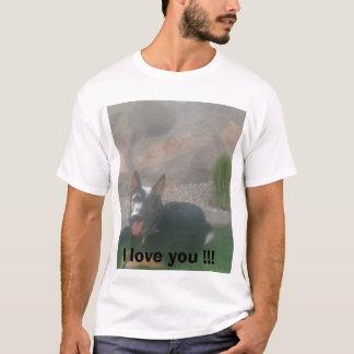 T-shirt Jardin   Athéna 002, je t'aime ! ! !