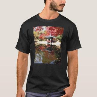 T-shirt Jardin de Japonais d'automne de Séoul