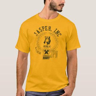 T-shirt Jaspe, inc. - chien de pilote d'avion de chasse