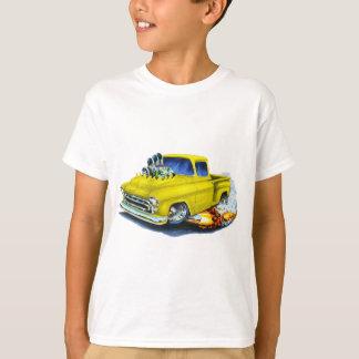 T-shirt Jaune 1957 de collecte de Chevy