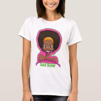 T-shirt Jaune intellectuel de soeur