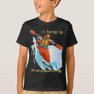 T-shirt J'aurais plutôt 2 ans Kayaking