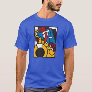 T-shirt Jazz dur de coup de poing