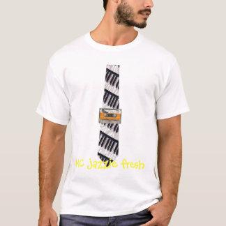 T-shirt jazzie de mètre-bougie frais