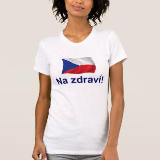 T-shirt Jdravi tchèque de Na !