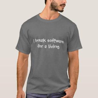 T-shirt Je casse le logiciel