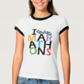 T-shirt Je cours des marathons !