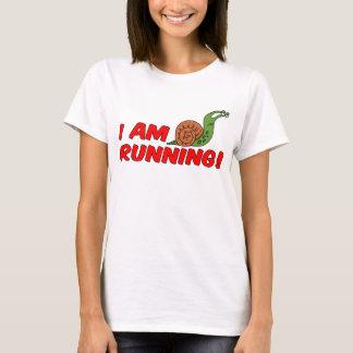 T-shirt Je cours l'escargot