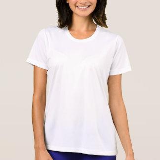 T-shirt Je cours pour la chemise de Wicking des femmes de
