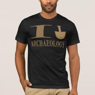 T-shirt Je creuse des chemises d'archéologie