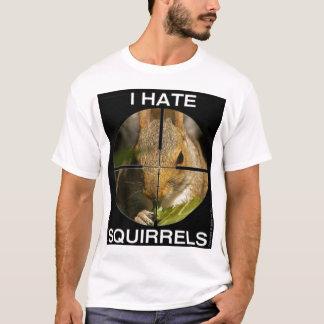 T-shirt Je déteste des écureuils - dans la portée -