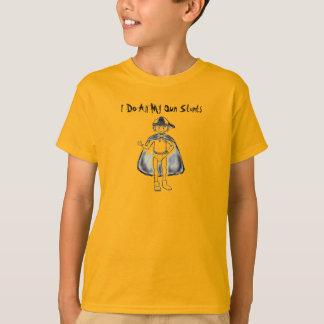 T-shirt Je fais tout mes propres cascades 2
