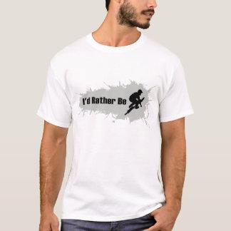 T-shirt Je ferais plutôt BMX