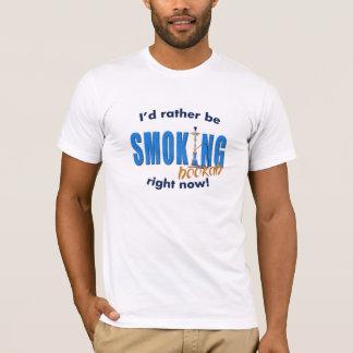 T-shirt Je fumerais plutôt le narguilé