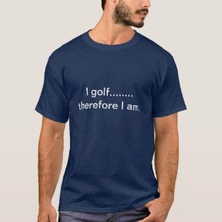 T-shirt Je joue au golf
