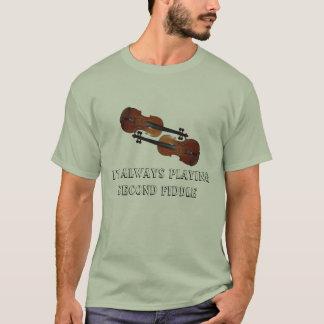 T-shirt Je joue toujours le faire-valoir