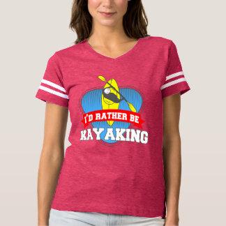 T-shirt Je Kayaking plutôt