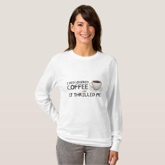 """T-shirt """"Je la chemise de base des femmes ai découvert"""