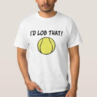 T-shirt Je lancerais ce tee - shirt de boule