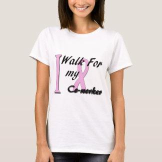 T-shirt Je marche pour mon collègue