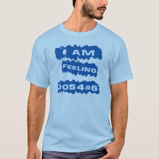 T-shirt Je me sens bleu (0054a6)