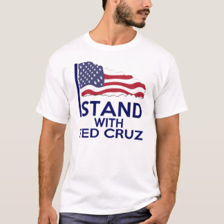 T-SHIRT JE ME TIENS AVEC CRUZ DE TED