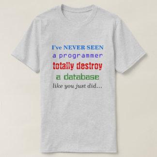 """T-shirt """"Je N'AI TOTALEMENT JAMAIS VU un programmeur"""