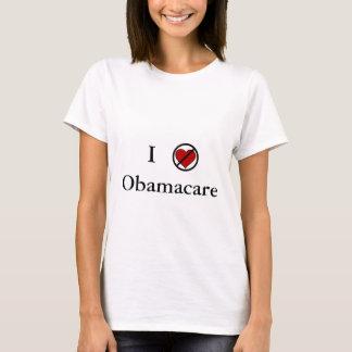 T-shirt Je n'aime pas Obamacare