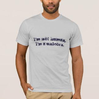 T-shirt Je ne suis pas humain
