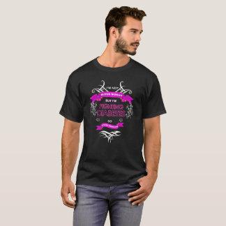 T-shirt Je ne suis pas les femmes superbes mais je combats