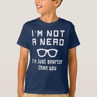T-shirt Je ne suis pas un ballot, je suis simplement plus